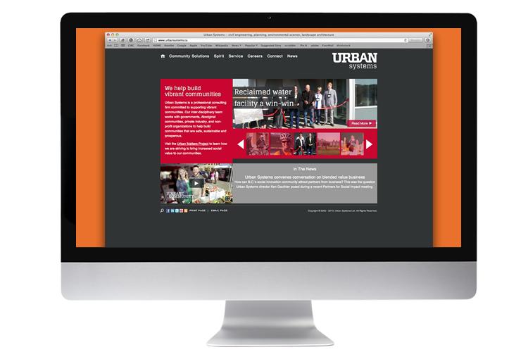 urban systems web