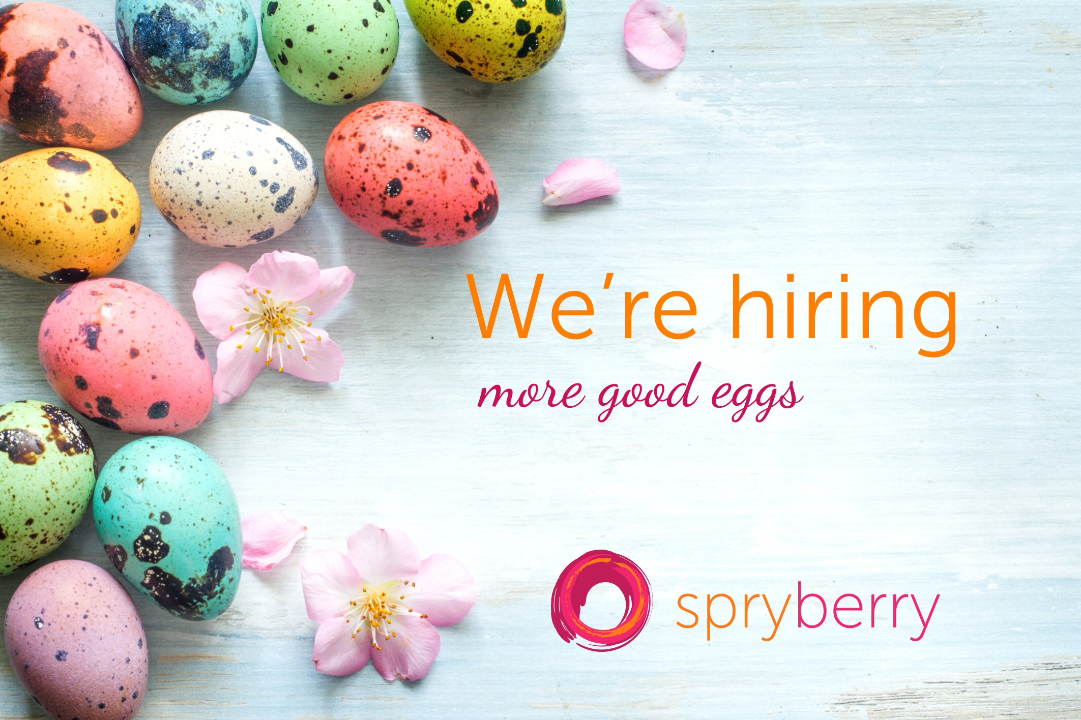 hiring more good eggs