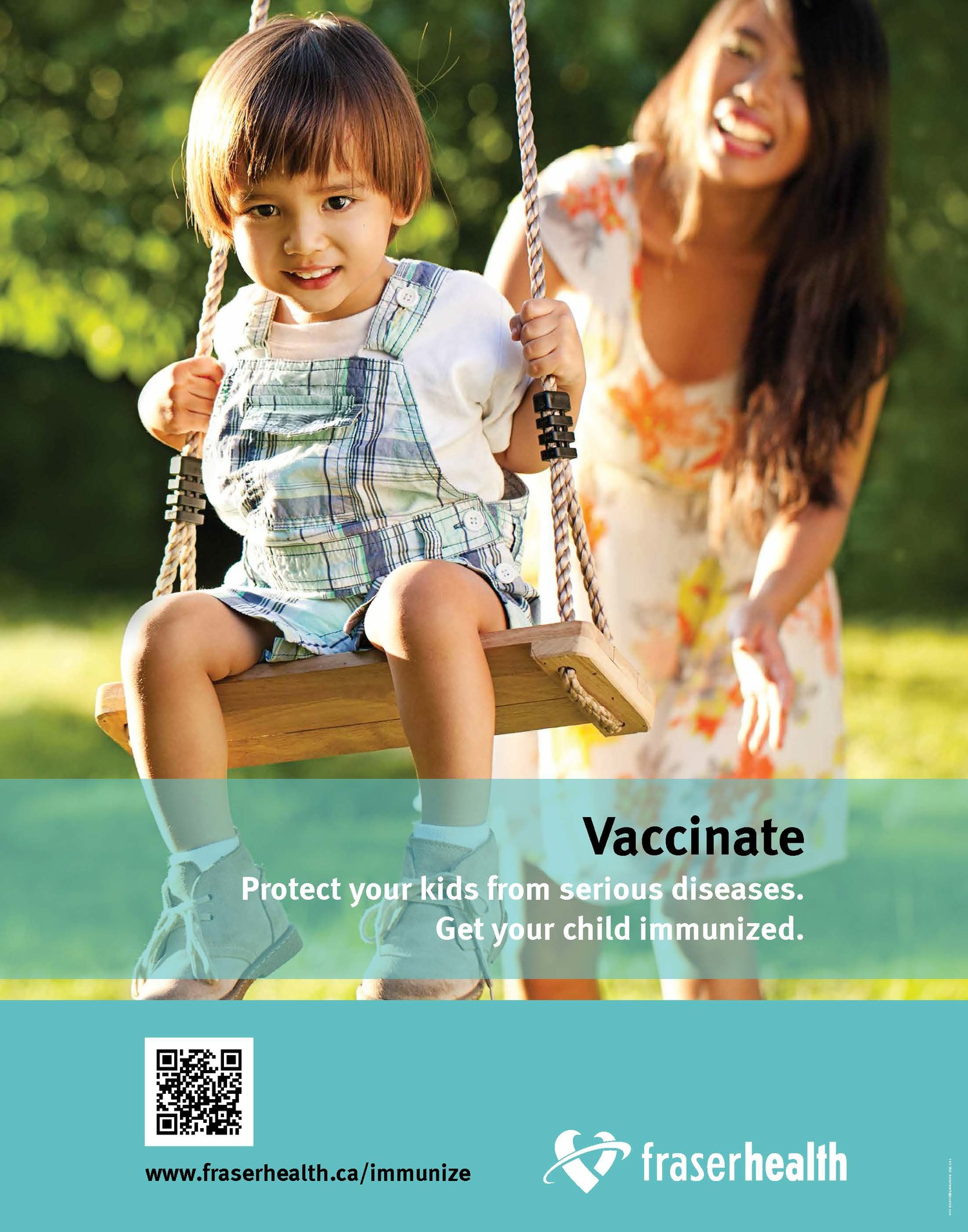 FHA vaccination poster