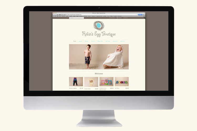robin's egg boutique ecommerce - shopify.ca