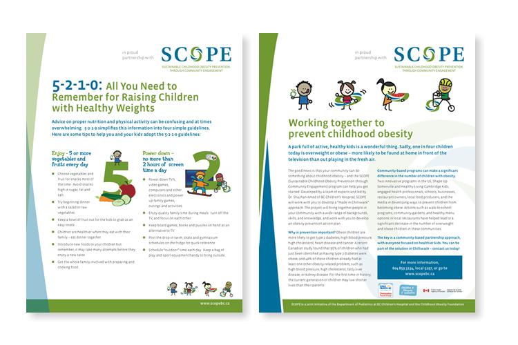 SCOPE handout describing the program