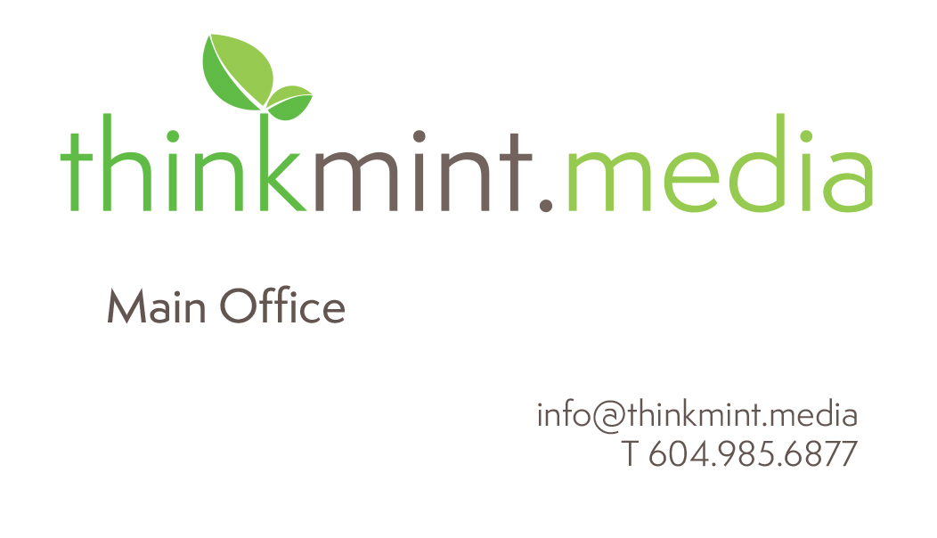 think mint media biz card