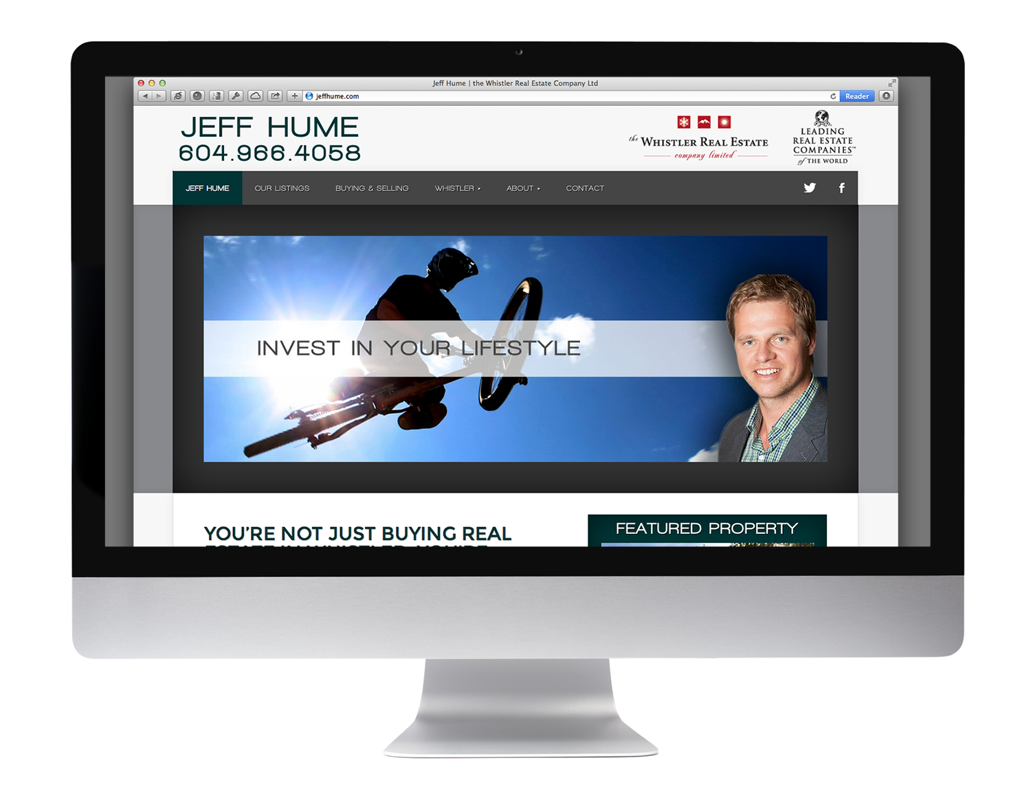 home page - jeff hume real estate