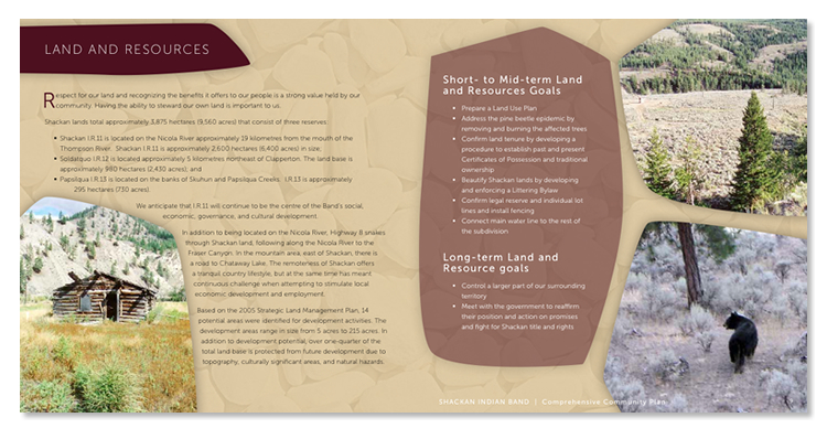 shackan indian band brochure pages