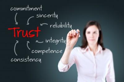 Authenticity means trust